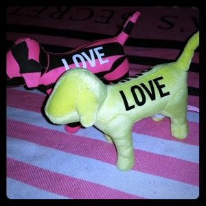 Neon PINK collectable dog